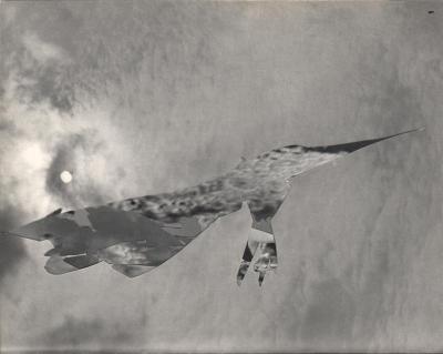 Michalis Pichler, clouds & sky #1, paper collage, 28x23cm