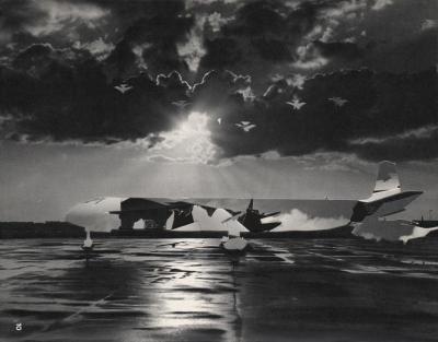 Michalis Pichler, clouds & sky #10, paper collage, 28x23cm