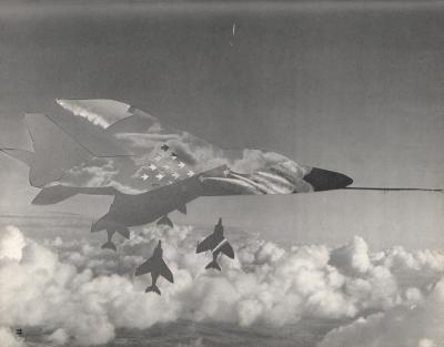 Michalis Pichler, clouds & sky #11, paper collage, 28x23cm