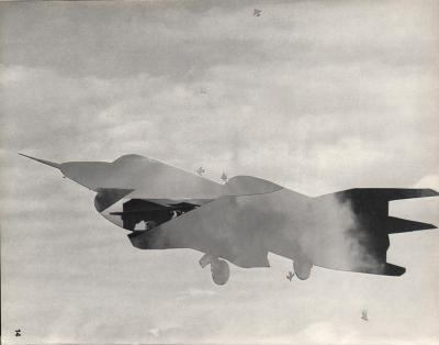 Michalis Pichler, clouds & sky #14, paper collage, 28x23cm