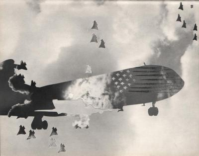 Michalis Pichler, clouds & sky #18, paper collage, 28x23cm