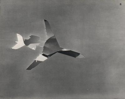 Michalis Pichler, clouds & sky #21, paper collage, 28x23cm