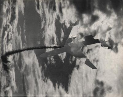 Michalis Pichler, clouds & sky #22, paper collage, 28x23cm