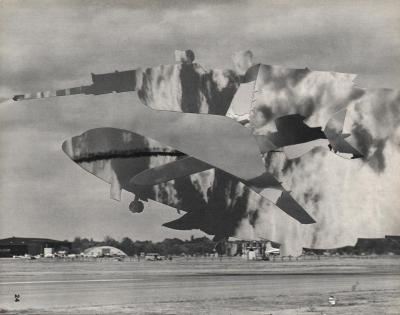 Michalis Pichler, clouds & sky #24, paper collage, 28x23cm