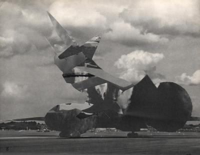 Michalis Pichler, clouds & sky #30, paper collage, 28x23cm