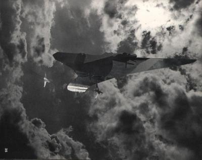 Michalis Pichler, clouds & sky #35, paper collage, 28x23cm