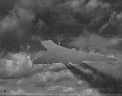 Michalis Pichler, clouds & sky #36, paper collage, 28x23cm