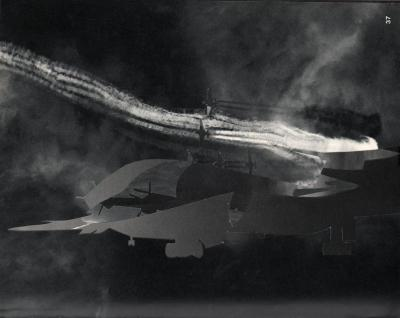Michalis Pichler, clouds & sky #37, paper collage, 28x23cm