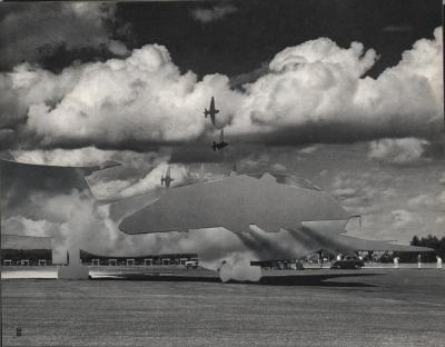 Michalis Pichler, clouds & sky #38, paper collage, 28x23cm