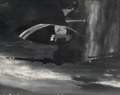 Michalis Pichler, clouds & sky #41, paper collage, 28x23cm