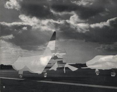 Michalis Pichler, clouds & sky #51, paper collage, 28x23cm