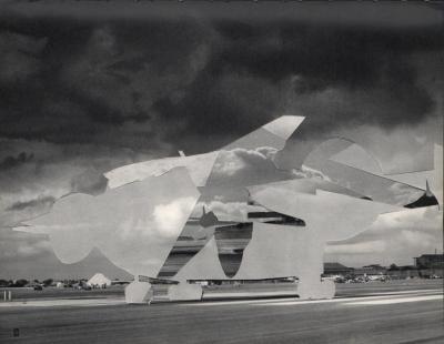 Michalis Pichler, clouds & sky #53, paper collage, 28x23cm
