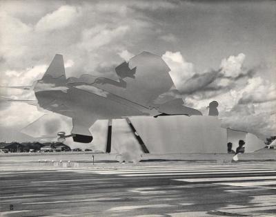 Michalis Pichler, clouds & sky #63, paper collage, 28x23cm