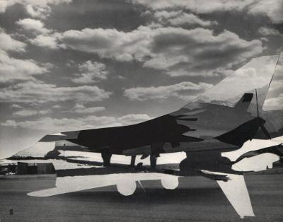 Michalis Pichler, clouds & sky #69, paper collage, 28x23cm