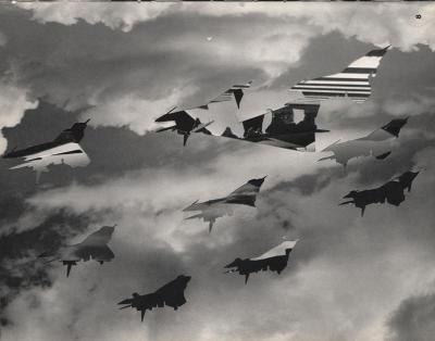 Michalis Pichler, clouds & sky #8, paper collage, 28x23cm