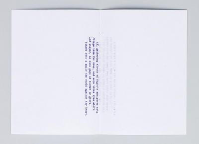 Michalis Pichler, 555 SCHNAPSPRESSE SONNETS, FOLDED, STAPLED AND SOLD IN CHUNKS OF 5 (Leipzig: Lubok Verlag, 2014).