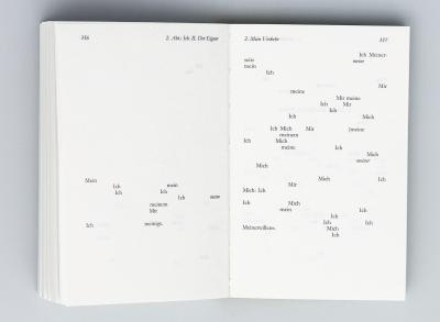 """Michalis Pichler, Der Einzige und sein Eigentum (Berlin: """"greatest hits"""", 2009)."""