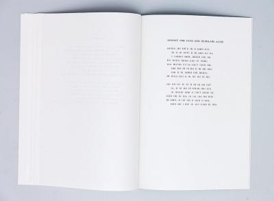 """Michalis Pichler, SOME MORE SONNET(S) (Berlin: """"greatest hits"""", 2011)."""
