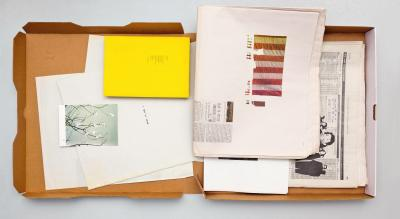 Michalis Pichler, Red, White & Blue Box (New York: self-published, ).