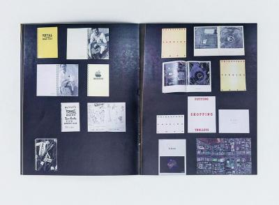 "Michalis Pichler, SIX HANDS AND A CHEESE SANDWICH (Berlin: ""greatest hits"", Ljubljana: Zavod P.A.R.A.S.I.T.E., 2011)."