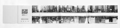 """Pichler Michalis, GINZA HACCHO / EVERY BUILDING ON THE GINZA STRIP (Berlin: """"greatest hits"""", Baden: Kodoji Press, 2018)."""