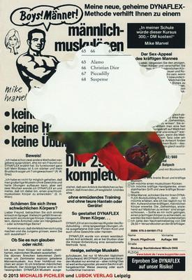 Boys! Männer!  Michalis Pichler Lubok Verlag 2013