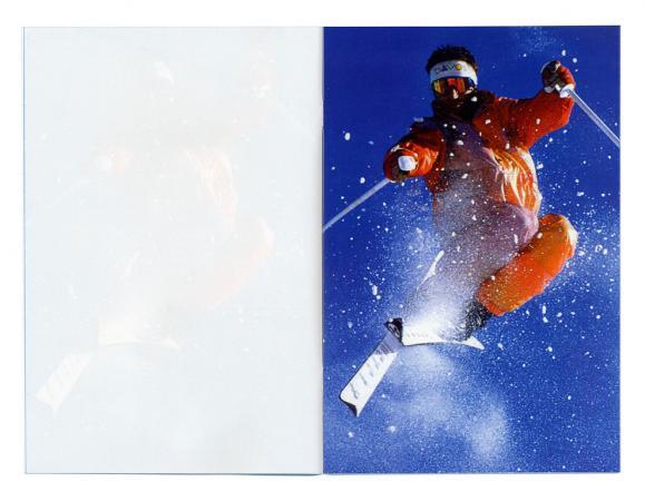 Claude Closky, Ski