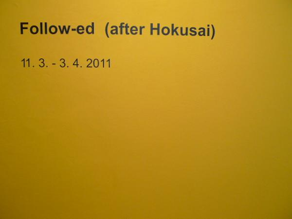follow-ed (after hokusai) at Gallery P74