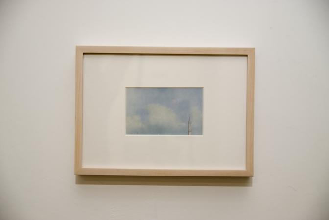 John Stezaker, Stolen Sky, 1976