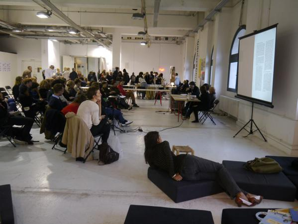 Conceptual Poetics Day at MISS READ, abc art berlin contemporary, 2013