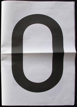 Claude Closky,(U)L.S #4. Repartir à zéro, 12 pp., 2009