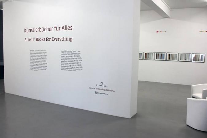 Artists' Books for Everything, Zentrum für Künstlerpublikationen / Weserburg, June 2 - August 6, 2017