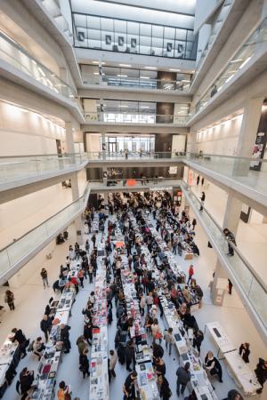 Vienna Art Book Fair 2019, © eSeL.at - Joanna Pianka
