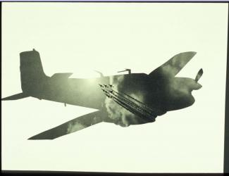 Airplanes & sky #25, Michalis Pichler, 2005, collection of John Stezaker