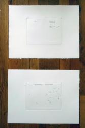 Ich hab' Mein Sach' auf Nichts gestellt, Michalis Pichler, photogravure, 2009