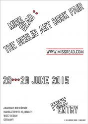 MISS READ: The Berlin Art Book Fair, Lawrence Weiner, 2015