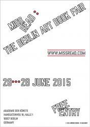 MISS READ: The Berlin Art Book Fair, Lawrence Weiner, 2015
