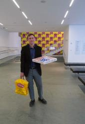 Pizza sells to moma