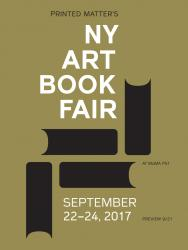 THE NY ART BOOK FAIR 2017
